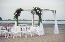 A special wedding by the sea